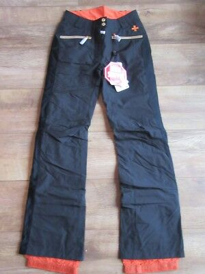ROSSIGNOL Womens Black JCC Gore Insulated Ski Pants Trousers Ladies XS BNWT