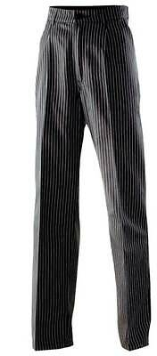 Chef Trousers Baker Pants Chef's Uniform Pinstripes all Sizes