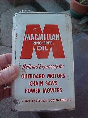 MACMILLAN RING-FREE OIL.  for 2 & 4 Cycle Air Cooled Engines