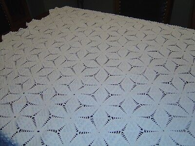 Vintage Handmade Table Cloth/ Bed Cover
