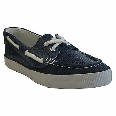 RocSoc Womens BOAT DECK SHOES size 9 NEW NAVY BLUE CANVAS SLIP ONS