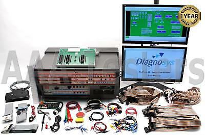 Diagnosys Pinpoint II P2-8 8-Slot PCB Test & Reverse Engineering System TestVue