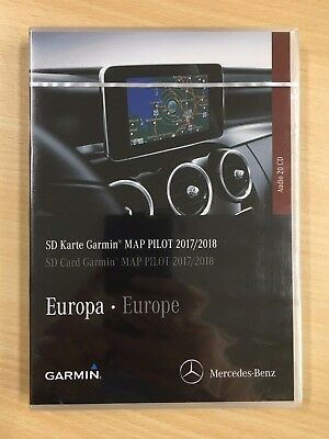 Mercedes Benz SD Karte Garmin MAP PILOT 2017/2018 Europe Audio 20CD  A2189061903