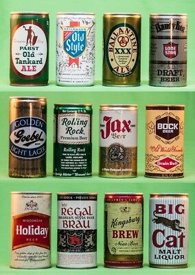 Beer Cans - 12 Different