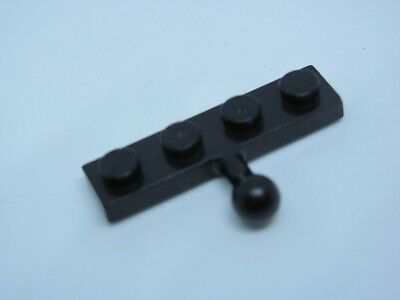 LEGO 3184 @@ Plate, Modified Towball - Black 6271 6274 6280 6285 6286 6289