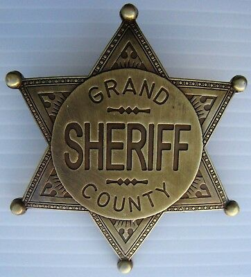 SHERIFF STERN   GRAND COUNTY   USA   WILD WEST   COUNTRY - Ref.13L