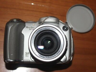 canon powershot s2 is 5 mp digital camera 12x zoom for parts or rh picclick com Canon A-1 User Manual in Print Canon T3i Manual