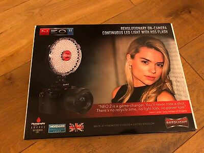 Rotolight Neo 2 II - All-in-one Continuous LED Light and HSS Flash - Brand New