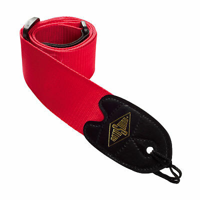 Rotosound Guitar Bass Strap Gurt red STR-2 rot Gitarrengurt