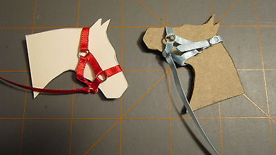 Hand made halters for Schleich horses (Standard Nylon Style)