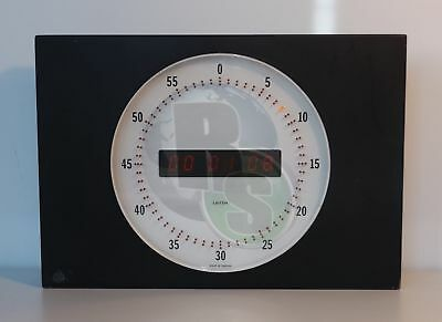 Leitch UDC-512 Universal Digital Time Display Wall Clock 12""