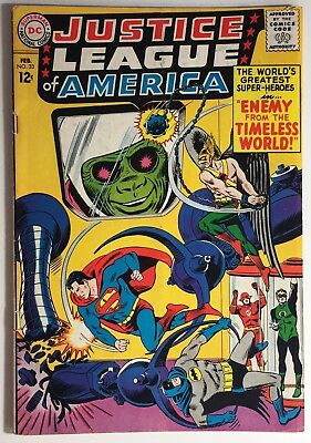 Justice League of America #33 VG/FN, Silver Age JLA, 4 Staples, Combined Ship!