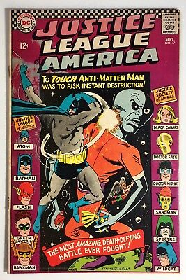 Justice League of America #47 VG/F, Silver Age, JLA/JSA Cross-Over, Spectre