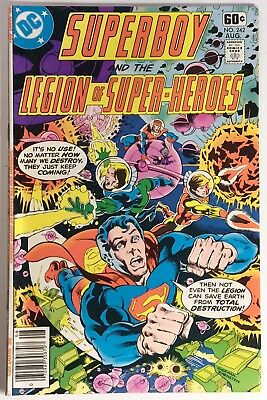 Superboy and the Legion of Super-Heroes 242, F/VF, Khund Invasion!