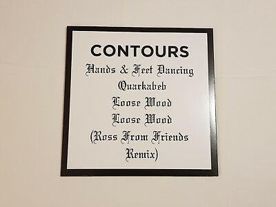 """Contours - Loose Wood EP - 12"""" Vinyl - Shall Not Fade Electronic / Deep House"""