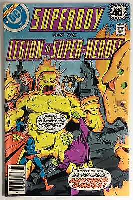 Superboy and the Legion of Super-Heroes 251, FN+, Brainiac Makes Omega!