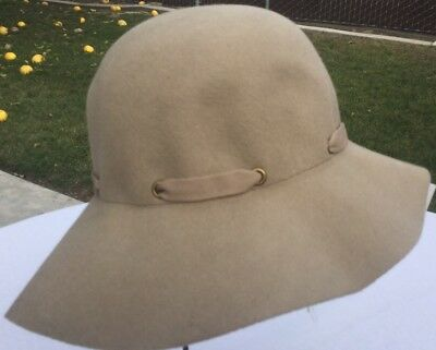 aed6f95f7709d Christys Crown Collection Taupe Wool Hat Bucket Cap Wool One Size Crushable  Cap