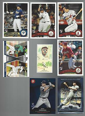 2011 Topps Update Baseball Complete Master Set 330 Cards Inserts Trout Rookie