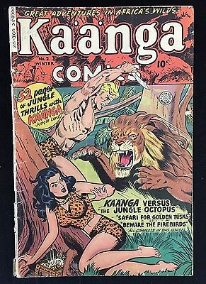 Kaanga Comics (1949) #2  Fiction House Magazines Ka'a'nga Lord Of The Jungle