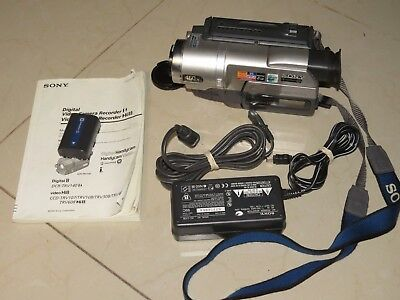 Sony Handycam CCD-TRV308 Analog Camcorder Record Transfer Play Video8 Hi 8 Tapes