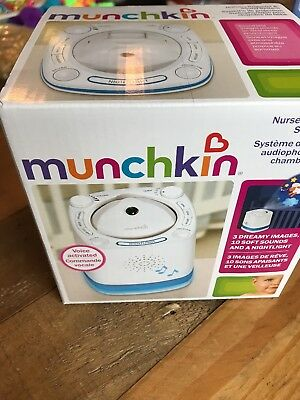 Munchkin Nursery Projector and Sound System *NEW