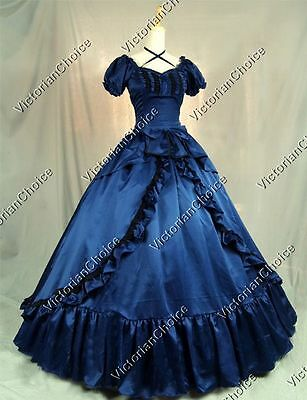 Victorian Old West Southern Belle Saloon Gal Dress Reenactment Clothing 206 XL