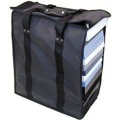"""Premium Carrying Case Measures 16"""" x 9"""" x 19"""" tall Holds (17) 1-inch tray... New"""