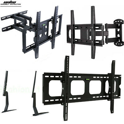 Fixed, Tilt, or FULL MOTION TV WALL MOUNT BRACKET for 32-75INCH Samsung Vizio LG