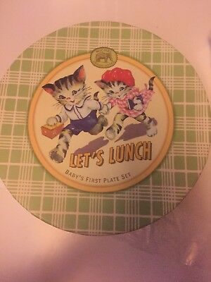 Let's Lunch Baby's First Plate Set By Michel Design Works
