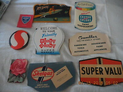 Lot of 9 Vintage Needle Books Advertising Germany England USA Some Unused