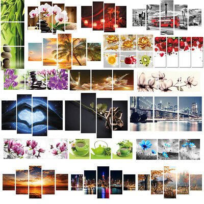 Huge Modern Home Wall Room Decor Art Oil Painting Picture Print Canvas Unframed