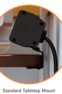 Electri-Cable Assembly Seclusion Series Under Table Mounting Power Receptacle