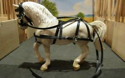 Hand made light horse harness Schleich (fits most)