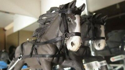 Hand made harness for Schleich 2016 Shire Stallion (Sleigh style)