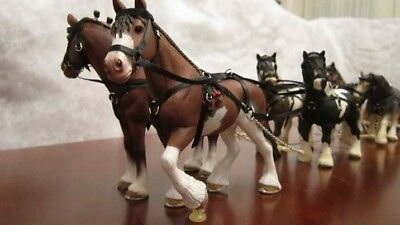 Hand made harness for Schleich horses (Y style)