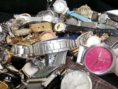 Vintage And More! Watch Lot Of (One-Hundred-Watches!) Mens/womens Rare Watch Lot