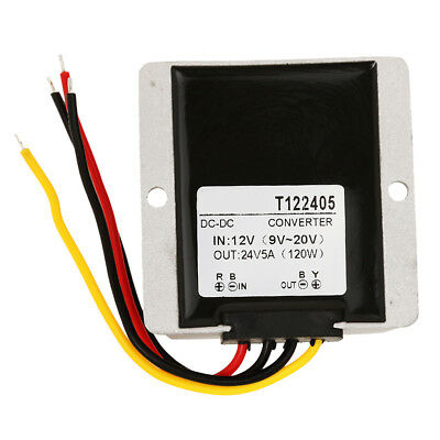 12v to 24v DC to DC Step Up Converter Regulator - 5A / 120W Waterproof