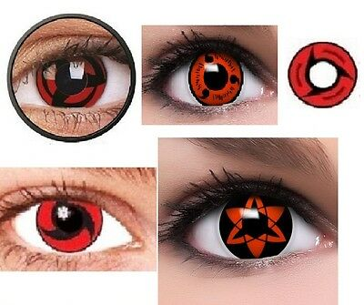 Coloured Contact Lenses Contacts Color Halloween Naurto Cosplay Crazy Lens