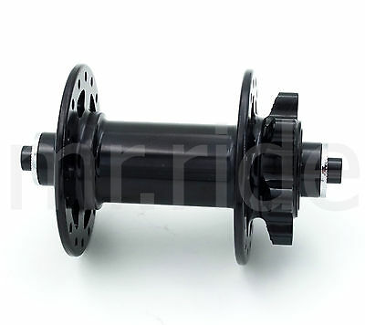 32H front hub for Mountain MTB Bike bicycle 100mm, 166g,Black