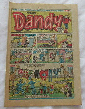 The Dandy Comic No 2166  May 28th 1983