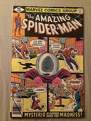The Amazing Spider-Man #199 (VFN) (Mysterio appearance)