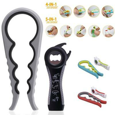 2pc All in one Jar Bottle Cover Key Multifunction Manual Can Opener Kitchen Tool