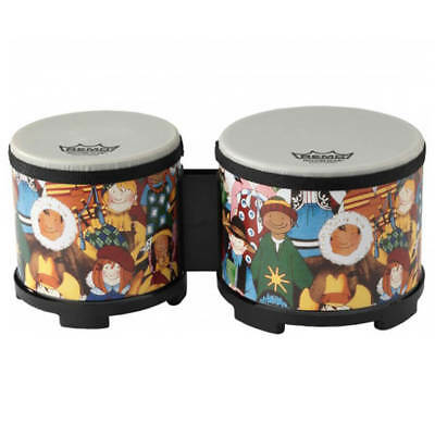 Remo RH-5600-00 Rhythm Club Bongo Drum - Rhythm Kids 5″-6″