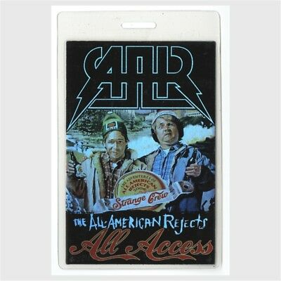All American Rejects authentic 2006 tour Laminated Backstage Pass Strange Brew