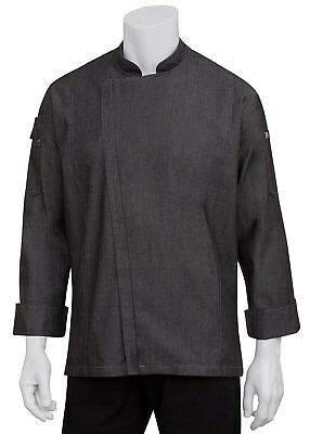 Chef Works Mens Gramercy Denim Chef Coat EXDZ001
