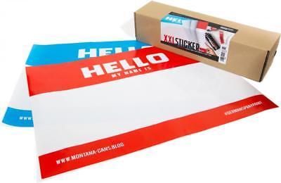 Montana A2 'Hello My Name Is' Stickers (10)