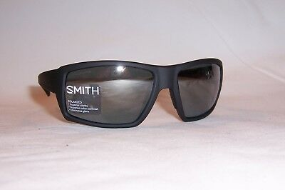 7d501be3ea New Smith Sunglasses Challis s Dl5-Rt Black platinum Mirror Chromapop  Polarized