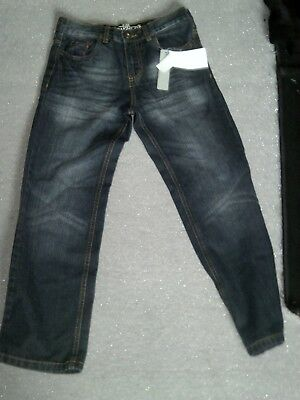 Boys indigo DEMO jeans, new with tags 9-10 years