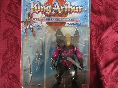 Mattel King Arthur  The Knights Of Justice Warlord Slasher Vintage Action Figure