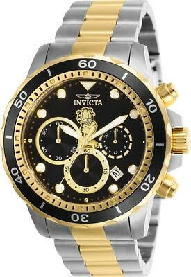 Invicta 25148 Character Collection Men's 45mm Chronograph Two-Tone Steel Watch